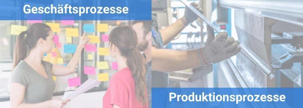 2 Arten der Prozessoptimierung Geschäftsprozesse (Organisatorische Abläufe) Produktionsprozesse (Herstellung von Waren)
