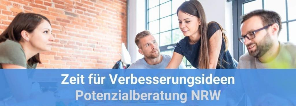 Potenzialberatung NRW - Zeit für Verbesserungsideen